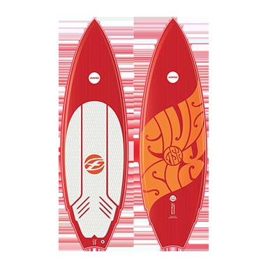 Tabla kitesurf FISH F-ONE 2016