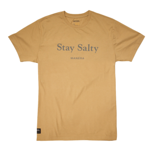 CAMISETA Stay Salty Apricot MANERA