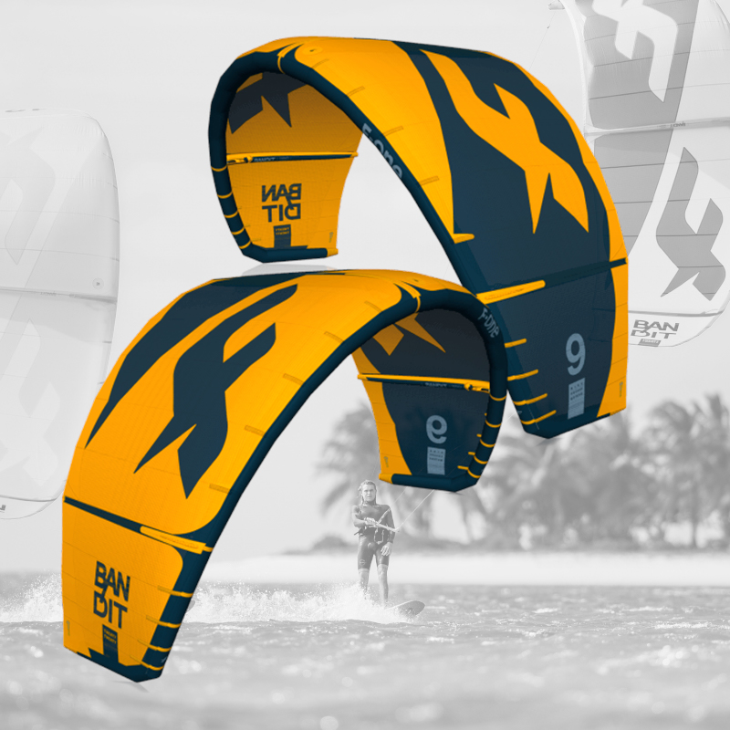 F-one kite surfing comets